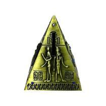 Porta Moedas Pirâmide Metal - N/A