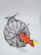 Porta ovos - Galinha - arame - Truco E Tranca