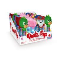 Porta Pop Pirulito Pj masks, Peppa Pig, Patrulha Canina C/12 - Dtc