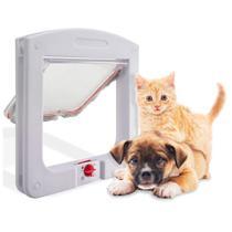 Porta Portinha De Passagem P/ Cachorro Gato 4 Em 1 Pet - AB MIDIA