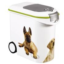 Porta Ração Hermético 12kg Dispenser Estampa Pet Keter -