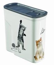 Porta Ração Hermético 2L Estampa Pet Keter -