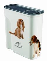 Porta Ração Hermético 6L Estampa Pet Keter -