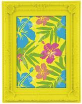 Porta Retrato 10x15 Amarelo Neon 5539 Mart -