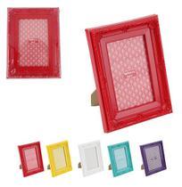 Porta Retrato 10x15 Com Moldura De Plastico Colors - Wellmix