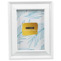 Porta Retrato 13X18cm Plástico Cazza Basic Off White -
