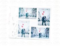Porta Retrato 15cm10cm Plástico - LOVE FOTOS Branco - N/D