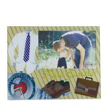Porta Retrato 15x10 Vidro Presente Dia dos Pais - N/D