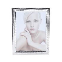 Porta Retrato Aço 20x25cm Lines Prestige -