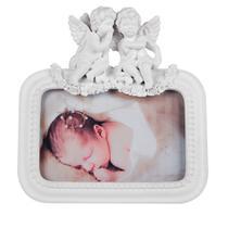 Porta Retrato Anjos de Resina Foto 10x15 - Decorafast