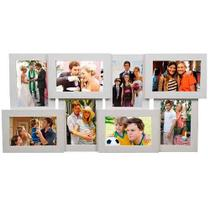 Porta Retrato Conjunto de Parede 10x15 - SC-08 Branco - Tudoprafoto