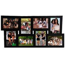 Porta Retrato Conjunto de Parede 10x15 - SC-08 Preto - Tudoprafoto