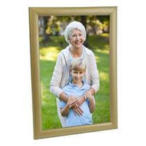 Porta Retrato de Madeira 20x30 - PRSC-D Dourado - Tudo pra foto