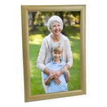 Porta Retrato de Madeira 20x30 - PRSC-D Dourado - Tudoprafoto