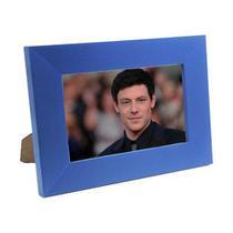 Porta Retrato de Madeira coloridos 10x15 - PR16-5 Azul - Tudoprafoto
