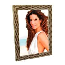 Porta Retrato de Madeira Palha 15x21 - PRSC-3 Amarelo 15x21 - Tudoprafoto