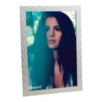 Porta Retrato de Madeira Palha 20x30 - PRSC-1 Branco 20x30 - Tudoprafoto