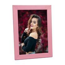 Porta Retrato de Madeira Rosa 15x21 - PRSC-R - Tudoprafoto