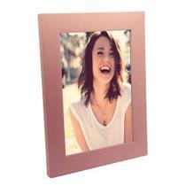Porta Retrato de Madeira Rosa Bebê Lisa 15x21 - PR16-3 - Tudoprafoto