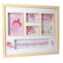 Porta-retrato de parede moranguinho baby - Yes Brasil