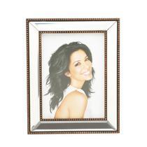 Porta Retrato De Plástico Para Foto 10X15Cm Top Espelhado Prestige -