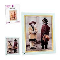 Porta Retrato de Vidro 15x20cm Art House - Zein