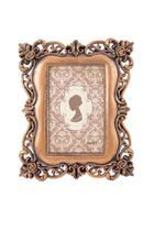 Porta Retrato Decorativo Em Cobre De Poliresina 10X15 - Mart