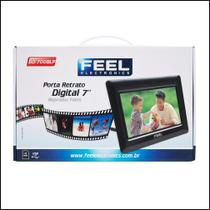 "Porta Retrato Digital Feel 7"" Bd-700blp -"