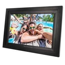 Porta Retrato Digital Multilaser SP303 Wi-Fi LCD 7 Pol Touch USB/SD Preto -