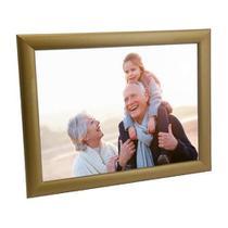 Porta Retrato Dourado de Madeira 20x25 - PRSC-D - Tudoprafoto