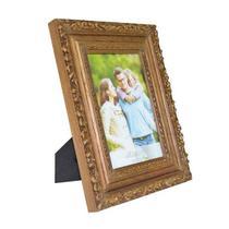 Porta Retrato Elegance 10X15CM em Madeira Natural Woodart 11824 -