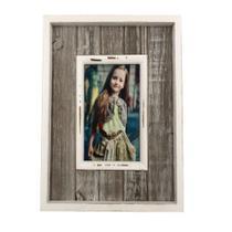 Porta Retrato em Madeira Yes 1 Foto 10x15cm -