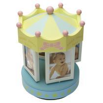 Porta-Retrato Infantil 8 Fotos em Plástico D14,5xA23,5cm - Dynasty -
