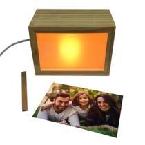 Porta Retrato Light Box - Luminaria