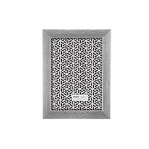 Porta-retrato Mart 20x25cm prata escovado -
