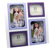 Porta-retrato multifotos modelo pr1010 lilas marca yes brasil -