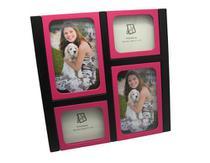 Porta-retrato multifotos modelo pr1010 pink marca yes brasil -