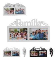 Porta Retrato Mural De Plastico Familia Colors Para 2 Fotos 10X15 - Wellmix