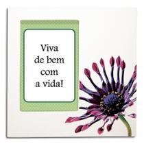 Porta-retrato para fotos 10x15 Flores - Yes