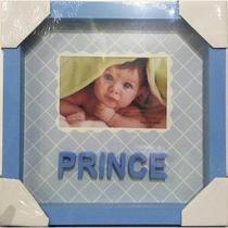 Porta Retrato Prince Azul 13cm x 9cm Para Bebe - Yes