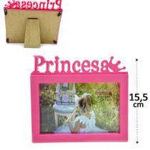 Porta Retrato PRINCESA 15cm10cm Plástico - N/D