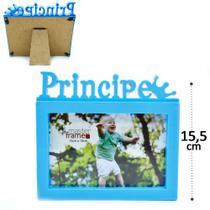 Porta Retrato Príncipe 15cm10cm Plástico - N/D
