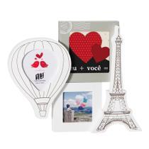 Porta Retrato Torre Eiffel e Balão Multifotos - Yes