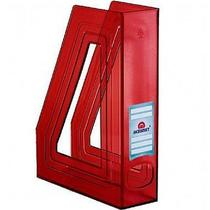 Porta revista classique line  pt c/4 pç vermelho c 278.3 - Acrimet