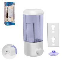 Porta Sabonete Dispenser De Parede Para Sabonete  Álcool em Gel Liquido 580 ml Saboneteira - Relogios E Presentes