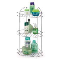 Porta Shampoo Cantoneira Tripla cromada - Arthi -