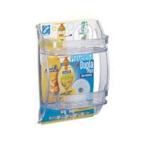Porta shampoo com prateleira dupla Plus 31x22x10,5cm Arthi -
