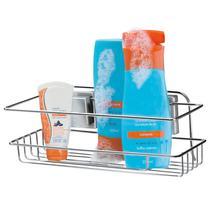 Porta Shampoo Com Ventosas Por Sucção - Arthi -