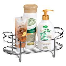 Porta Shampoo de Bancada Cromado Linha Premium Arthi 1297 -