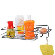 Porta Shampoo e Saboneteira Linha Premium Arthi 1241 -